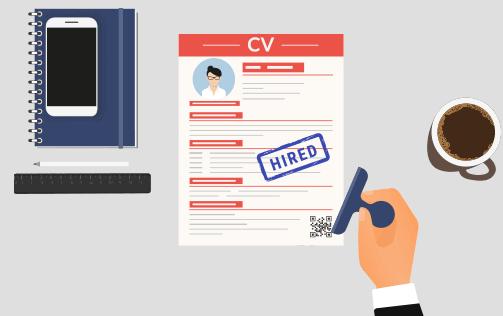 طريقة عمل سيرة ذاتية CV احترافية