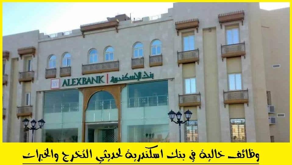 طريقة التقديم في بنك اسكندرية